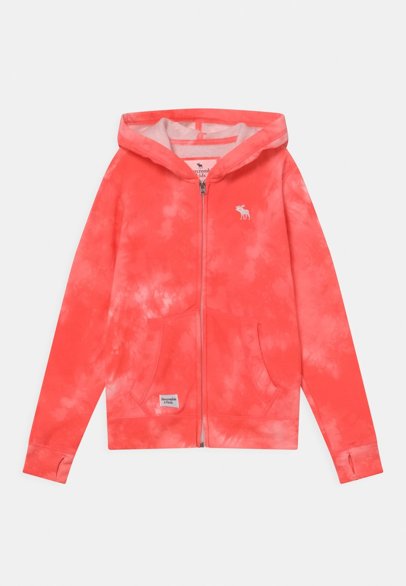Abercrombie & Fitch - Zip-up hoodie - coral
