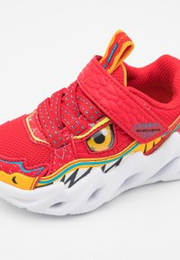Skechers - SHARK-BOTS - Trainers - red/yellow/blue - 5