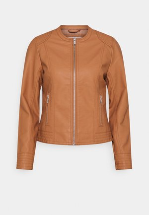 BYACOM JACKET - Faux leather jacket - trush