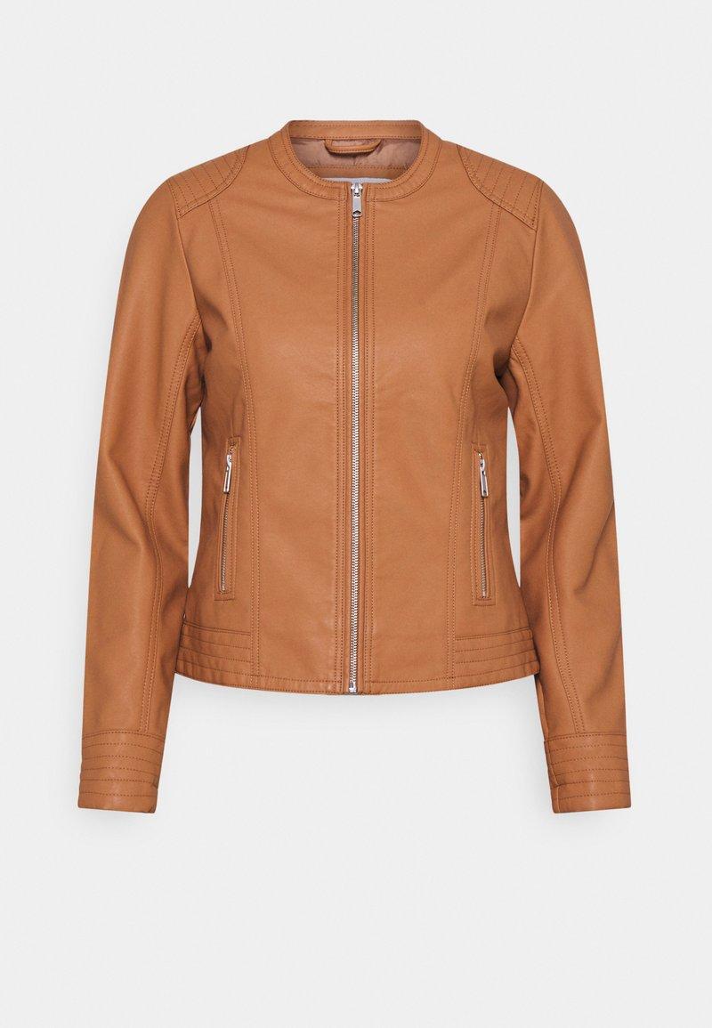 b.young - BYACOM JACKET - Faux leather jacket - trush