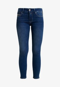 Replay - NEWLUZ ANKLEZIP - Jeans Skinny Fit - mediumblue - 3
