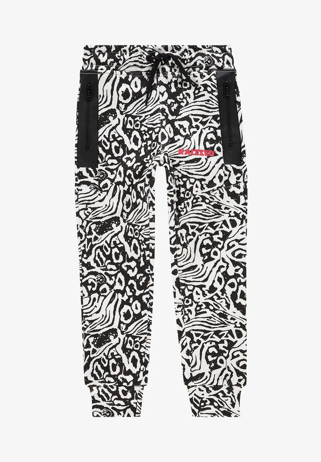 Tracksuit bottoms - real white