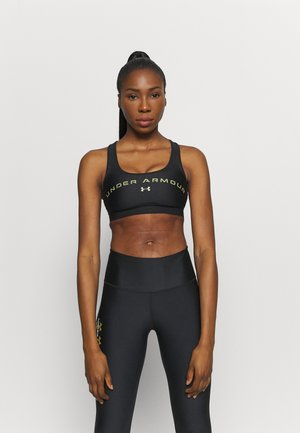 MID CROSSBACK BRA - Sports bra - black