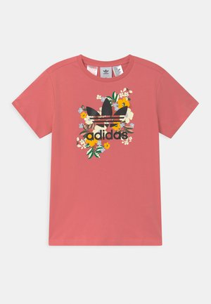 FLORAL TREFOIL  - T-shirt print - hazy rose/multicolor/black