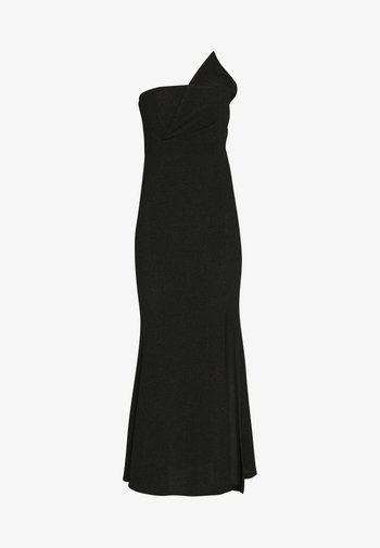 PANEL DETAIL DRESS - Vestido de fiesta - black