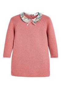 Next - PINK PRINTED COLLAR JUMPER DRESS (3MTHS-7YRS) - Jumper - pink - 0