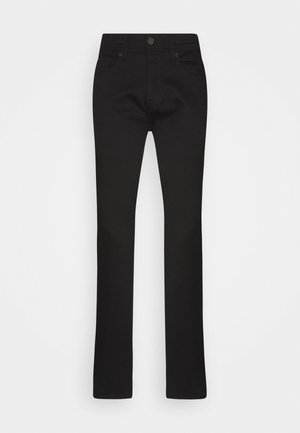 SLHSLIM LEON - Slim fit jeans - black