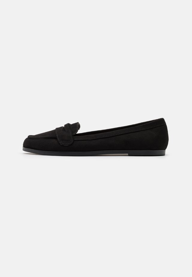 LAURA LOAFER - Slip-ons - black
