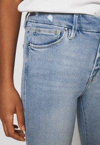 Good American - LEGS CROP - Jeans Skinny Fit - blue - 4
