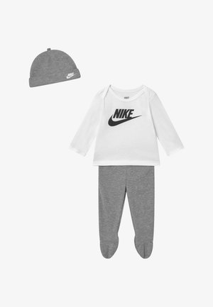 NIKE SET - Mössa - grey heather
