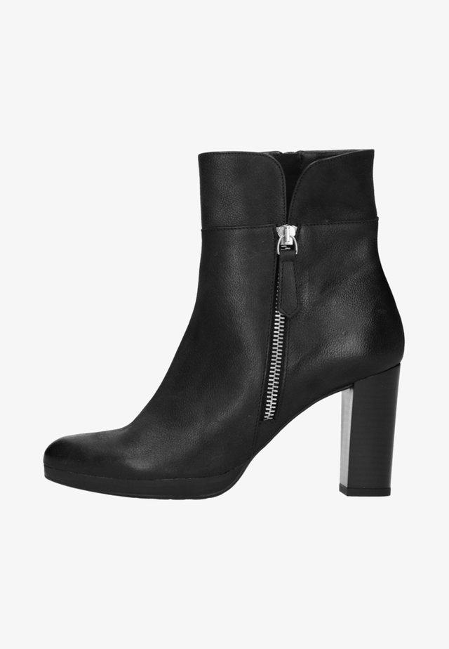 Ankle boots - black/black