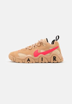 AIR BARRAGE UNISEX - Trainers - tan/laser crimson/white onyx/black
