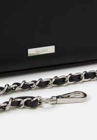 ALDO - KIBARA - Handbag - jet black/silver - 3