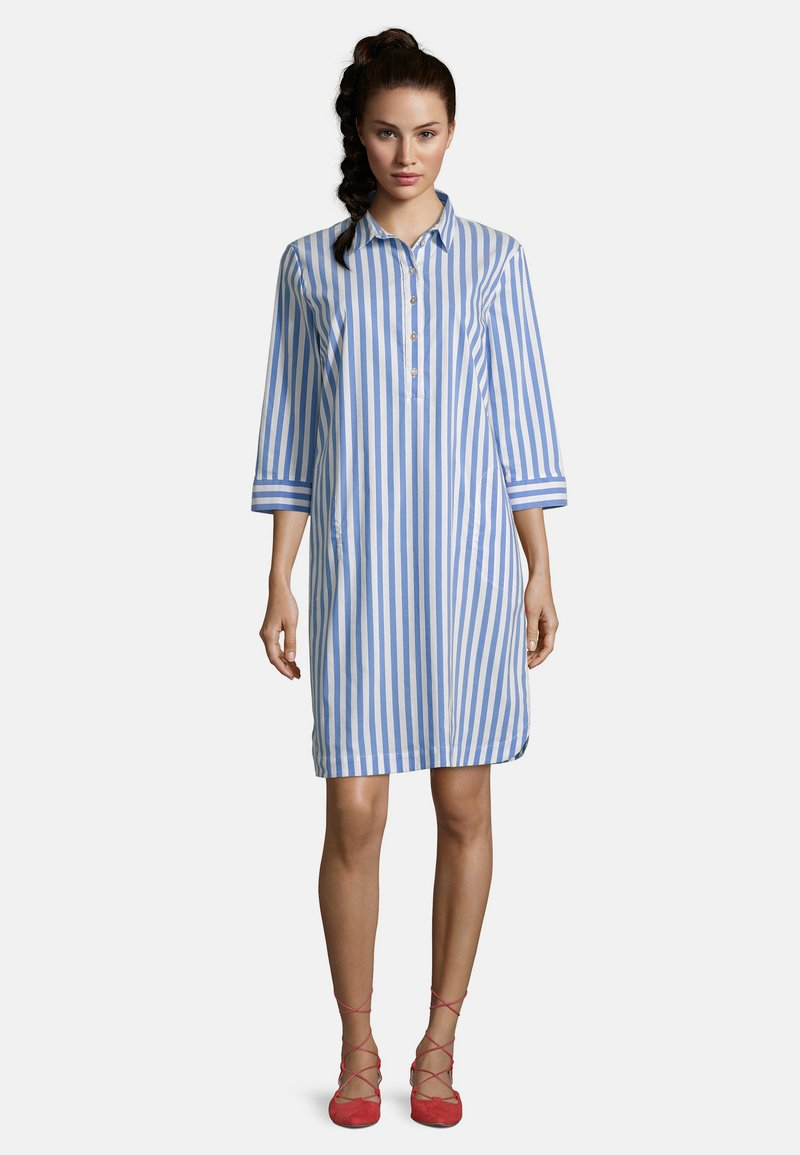 Betty Barclay - Shirt dress - blau/weiß