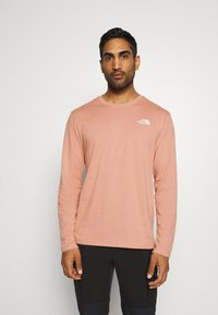 The North Face - GRAPHIC TEE UTILITY - Top sdlouhým rukávem - pink clay - 2