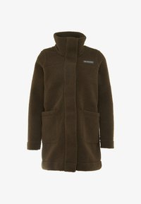Columbia - PANORAMA LONG JACKET - Fleece jacket - olive green - 5