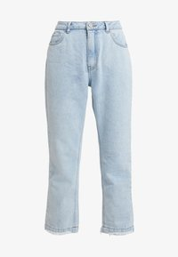 Missguided - WRATH HIGH WAISTED - Jeans Straight Leg - light wash - 4