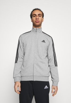 Tracksuit - medium grey heather/black