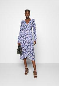 Fabienne Chapot - NATASJA FRILL DRESS - Day dress - marigold/lilac - 1