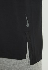Nike Performance - DRY TANK YOGA - Camiseta de deporte - black/iron grey - 4