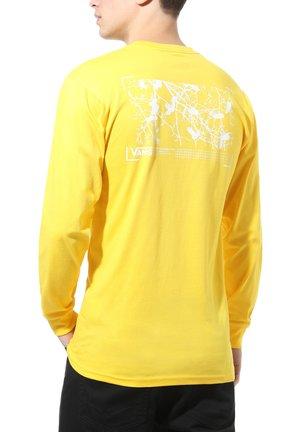 MN 66 SUPPLY LS - Print T-shirt - lemon chrome