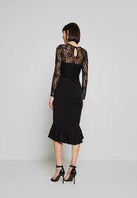 Missguided - Koktejlové šaty/ šaty na párty - black - 2