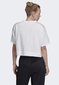 adidas Originals - LACE T-SHIRT - T-shirts med print - white - 1