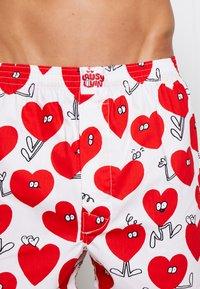 Lousy Livin Underwear - ROSE VALENTINES 2 PACK - Trenýrky - black/white - 4