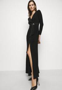 Lauren Ralph Lauren - CLASSIC LONG GOWN TRIM - Suknia balowa - black - 3