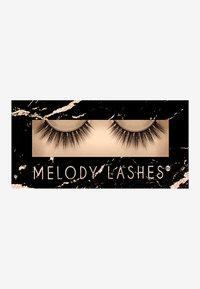 Melody Lashes - CUTIE - False eyelashes - black - 0