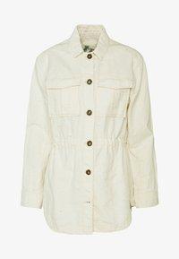 Scotch & Soda - ARMY SHIRT JACKET - Summer jacket - antique white melange - 4