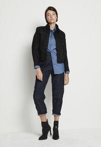 G-Star - C-STAQ 3D BOYFRIEND CROP WMN C 3D RAW DENIM WOMEN - Straight leg jeans - 3d raw denim - 1