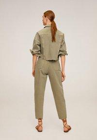 Mango - REGINA - Straight leg jeans - khaki - 2