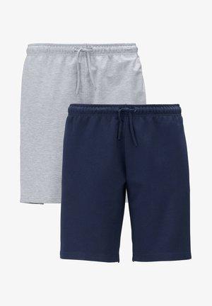 Shorts - marineblau,grau