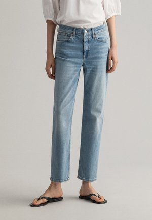 Relaxed fit jeans - light blue vintage