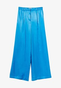 Bershka - Trousers - blue - 4