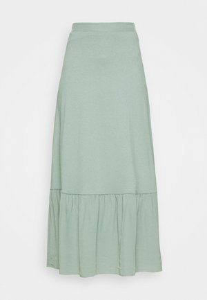 TIERRING SKIRT - A-line skirt - turquoise
