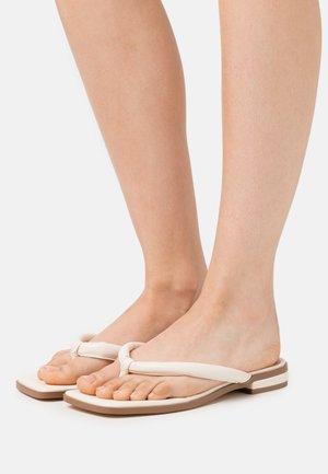 PADDED STRAP - Sandaler m/ tåsplit - cream