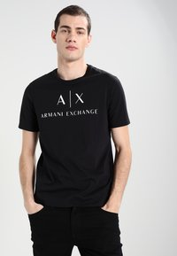 Armani Exchange - T-shirts print - black - 0