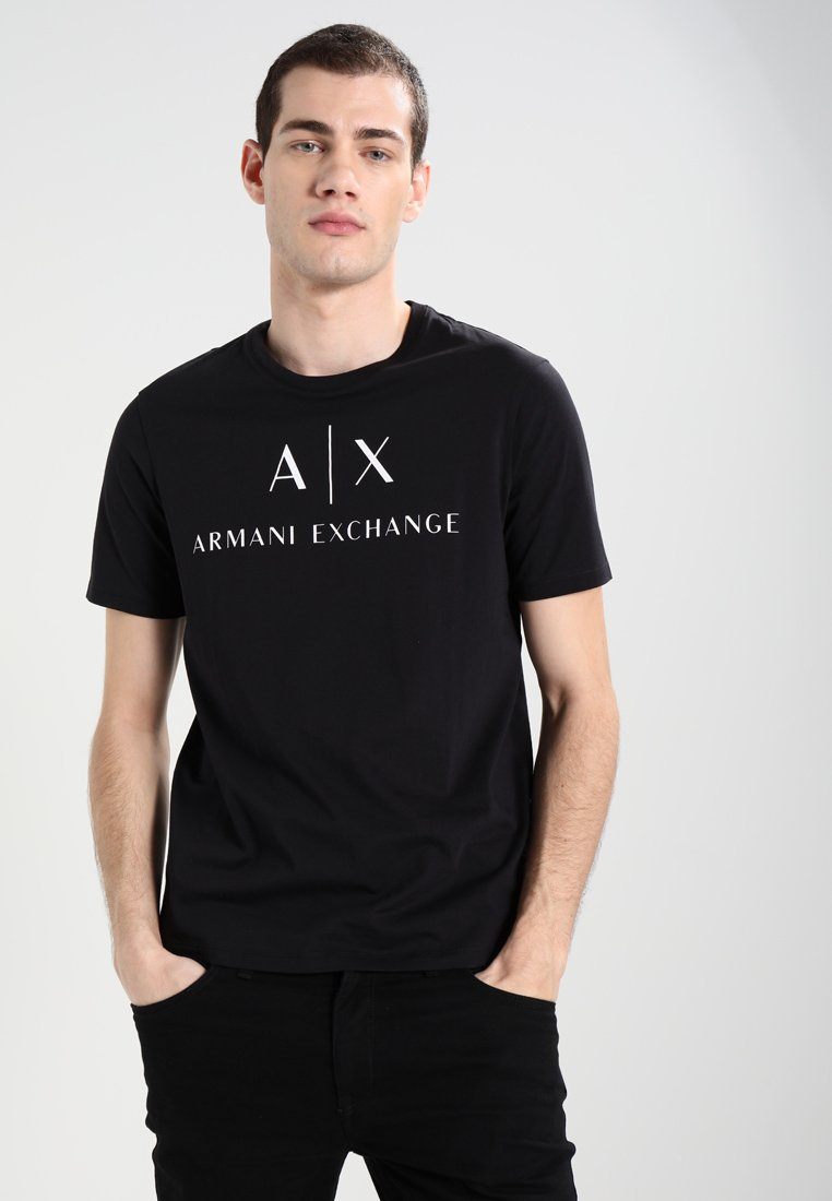Armani Exchange - T-shirts print - black
