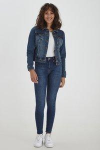 PULZ - Denim jacket - blue denim - 1