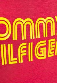 Tommy Hilfiger - POP TANK DRESS SHORT - Nightie - laser pink - 5