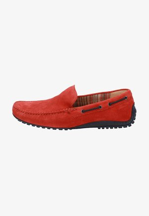 Chaussures bateau - rot