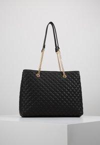 Forever New - QUILTED SHOULDER BAG - Handbag - black - 0