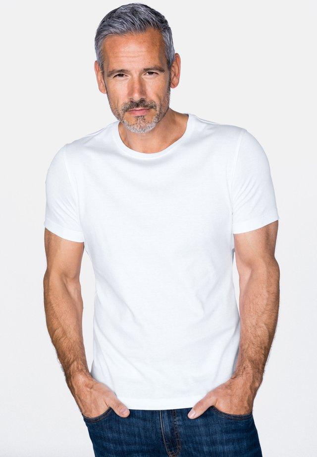 PARO - Basic T-shirt - white