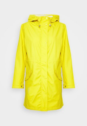 VMFRIDAYMUSIC COATED JACKET - Parka - celery