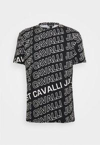 Just Cavalli - Print T-shirt - black variant - 4