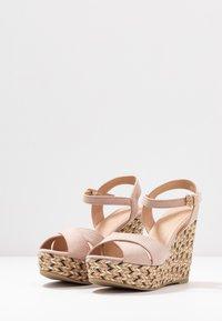 Anna Field - Korolliset sandaalit - rose - 4