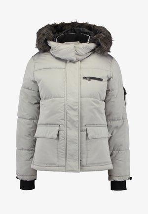 SHORT SKI PUFFER - Veste d'hiver - pale grey