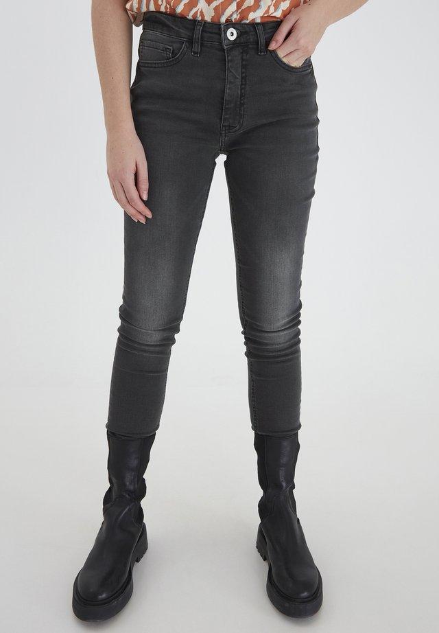 IHTWIGGY LULU - Jeans Skinny Fit - washed grey